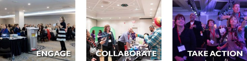 Engage, Collaborate, Take Action